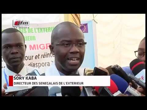 Rencontre Gouvernance inclusive de la migration (Extrait JT 20h de la TFM)