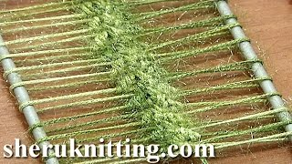 How To Crochet Hairpin Lace Strip Tutorial 8 Crochet Double Single Stitches