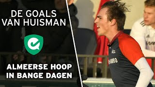 De doelpunten van Deegan Huisman bij Almere