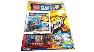 LEGO Nexo Knights Magazin Nr. 14 April 2017 Review deutsch