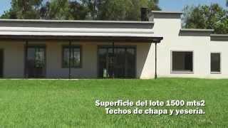 preview picture of video 'Casa a estrenar en Barrio Cerrado Lomas de San Francisco, Open Door'
