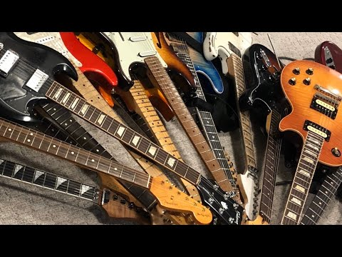 My Guitar Collection 2020