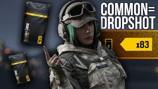 """Alpha Pack Opening, but for every """"common"""" I show a dropshot."""