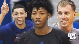 Austin Rivers, Elfrid Payton, Jason Williams Go At It In Pick Up Game - Iren Rainey Open Run