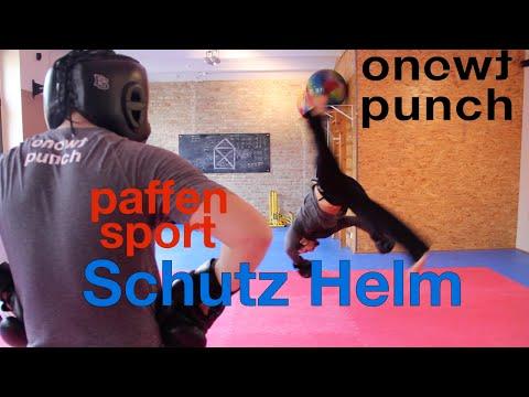 One Two Punch zeigt Paffen Sport Schutz Helm und testet für dich!!!