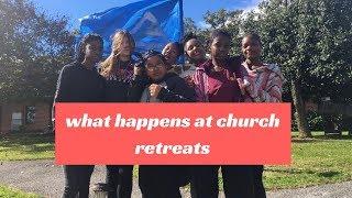 WHAT ACTUALLY HAPPENS AT CHURCH RETREATS (vlog)