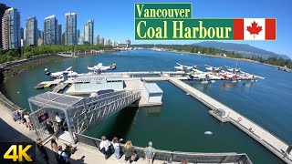 A day at Coal Harbour in Vancouver 🇨🇦