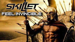 SKILLET - Feel Invincible • Troy - 300 Rise of an Empire