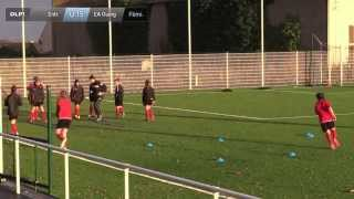 preview picture of video 'Résumé / Entrainement U15 Fém EA Guingamp !'