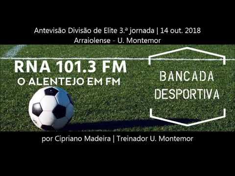 Antevisão Arraiolense Vs Grupo União Sport por Cipriano Madeira- Treinador do Grupo União Sport
