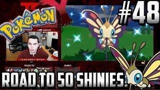 Beautifly  - (Pokémon) - Road to 50 Shinies SHINY BEAUTIFLY!   Shiny #48 Pokemon XY