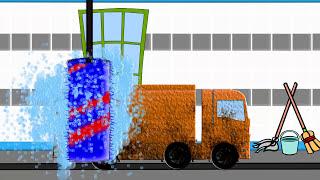 Car Wash And Garbage Truck | Myjnia Samochodowa Dla Dzieci