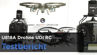 DBPOWER UDI RC U818A Drohne im Test - Unboxing, Infos & Vorstellung