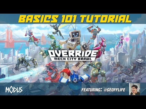 OVERRIDE: MECH CITY BRAWL - Basics 101 Tutorial thumbnail