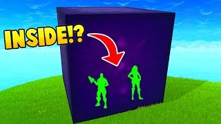PLAYERS INSIDE THE CUBE! (Fortnite FAILS & WINS #17)