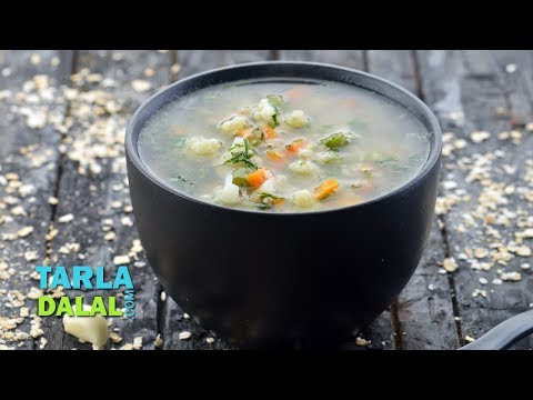 Video Garlic Vegetable Soup (Healthy Heart) by Tarla Dalal