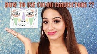 How To Use Color Corrector (छुपाएं काले घेरे दाग धब्बे पिगमेंटेशन) | Deepti Ghai Sharma
