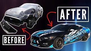 Building a 2JZ Mustang in 10 Minutes!