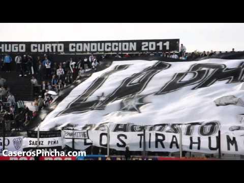 """""""De Caseros vengo + Telón vs almagro (CaserosPincha.com)"""" Barra: La Barra de Caseros • Club: Club Atlético Estudiantes"""