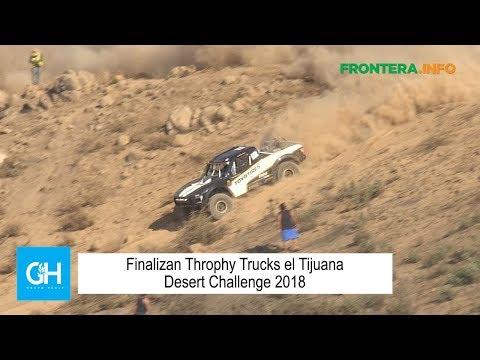 Finalizan Throphy Trucks el Tijuana Desert Challenge 2018