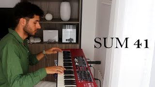 Sum 41   Never There + Catching Fire (beautiful Piano Cover)