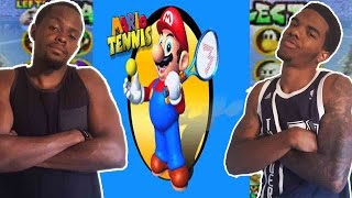 MOST COMPETITIVE GAME EVER CREATED!!  - Mario Tennis   #ThrowbackThursday ft. Juice