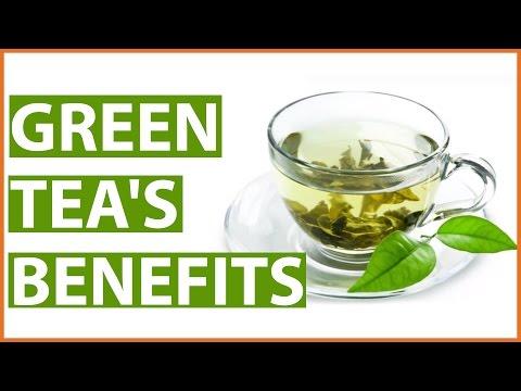 Video 10 Amazing HEALTH BENEFITS of GREEN TEA