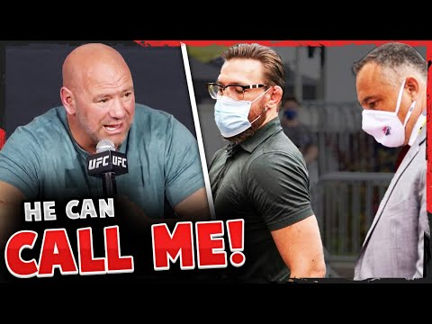 Dana White reacts to Conor McGregor allegations, McGregor's manager releases statement, UFC Vegas 10