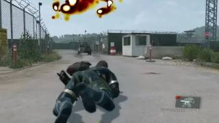 Game Over: Metal Gear Solid V Ground Zeroes (Death Animations)
