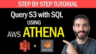 How to use SQL to Query S3 files with AWS Athena | Step by Step Tutorial