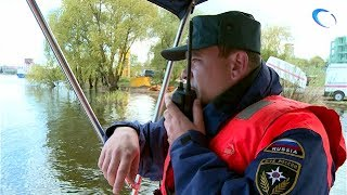 Региональное управление МЧС провело учения по ликвидации последствий аварии на воде