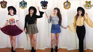 Hogwarts Lookbook // Harry Potter Outfits ⚡