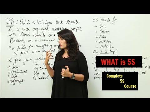 Lean Six Sigma l 5S Implementation Course l Lean ... - YouTube