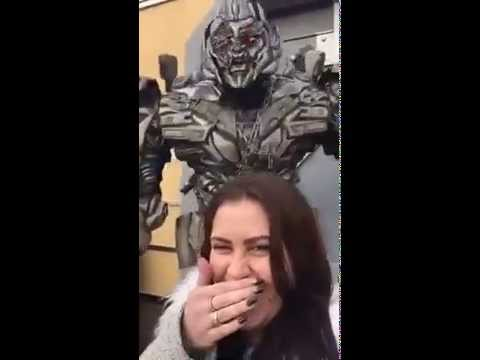 Megatron Can't Stand Your Selfies