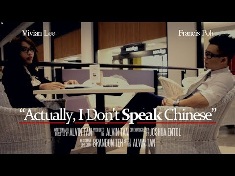 """Actually, I Don't Speak Chinese"" ""其实我不会讲华语"""