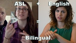 Two Deaf Women Show Us Bilingualism At Its Finest