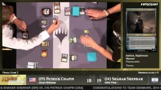 World Championship 2014 Finals (Standard): Patrick Chapin vs. Shahar Shenhar