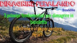 Dimagrire Pedalando : I 3 punti fondamentali per dimagrire con il ciclismo