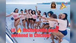 LIT AF BACHELORETTE PARTY!!! Quick Trip To Chicago