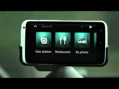 Navegación para automóvil con tu HTC One