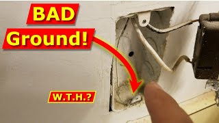 How Not To Ground An Electrical Outlet - Wire Outlets Right