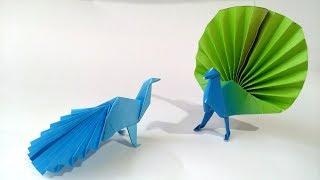 Origami Peacock By Vicente Palacios