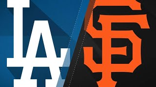 Giants hand Dodgers 11th straight loss: 9/11/17 - Video Youtube