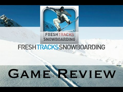 Fresh Tracks Snowboarding – Sport Game Review – Sports App IOS – Winter 2015 – [GO CRAZY]!