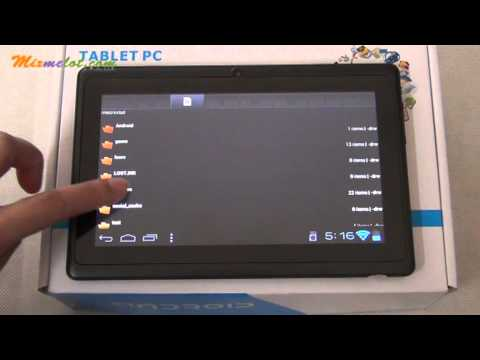 Q88 All Winner A13 1.2GHz DDR3 512MB 7inch 4GB Android 4.0 Tablet PC RUNN-783A
