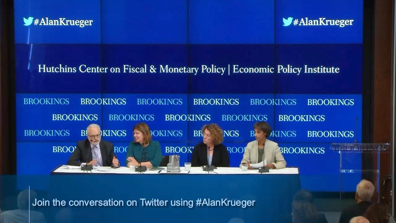 Panel: Alan Krueger's work on education and mobility, and its relevance to policy today