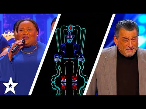 America's Got Talent 2017 Week 4 Auditions | Light Balance, Danell Daymon& Greater Works & More!!