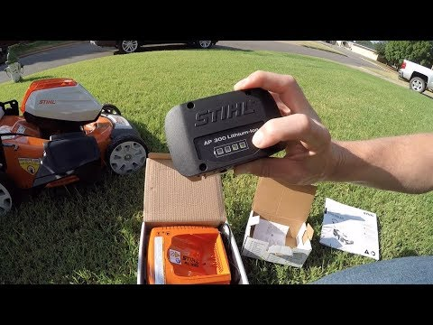 Should you buy a Battery Powered Lawn Mower? Stihl RMA 510 First Run Raw Review