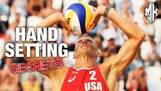 TOP 5 HAND SETTING TIPS for Beach Volleyball