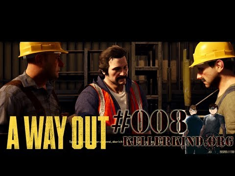 A Way Out #8 – Wissen muss man nachschlagen ★ Let's Play Together A Way Out [HD|60FPS|Co-Op]
